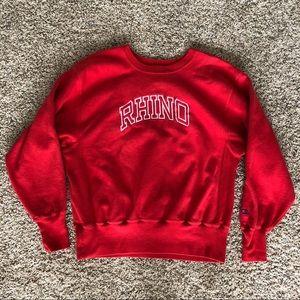 Champion Reverse Weave Rhino crewneck sweatshirt L